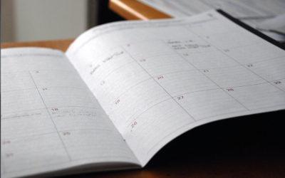 Le calendrier de printemps des dirigeants